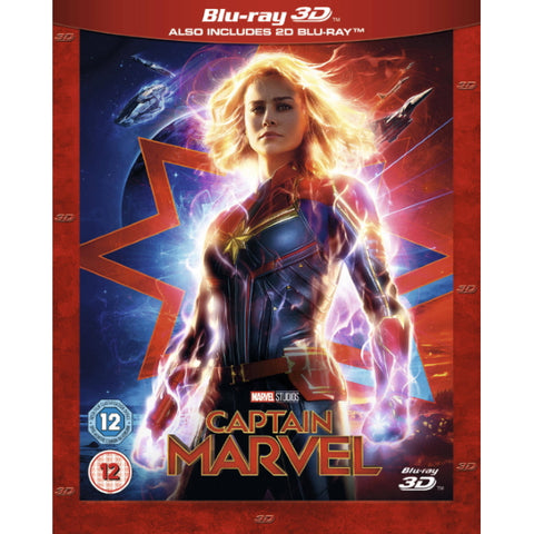 Marvel's Captain Marvel [3D + 2D Blu-ray]