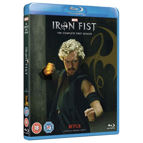 Marvel's Iron Fist - The Complete First Season [Blu-Ray Box Set]