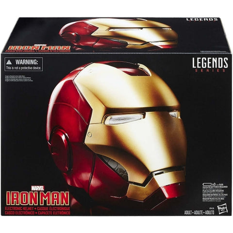 Marvel's Iron Man Electronic Helmet - Legends Series [Toys, Ages 12+]