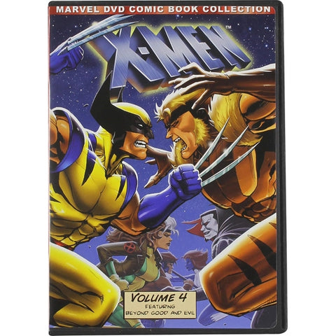 Marvel's X-Men Animated TV Series: Vol 4. - DVD Comic Book Collection [DVD Box Set]
