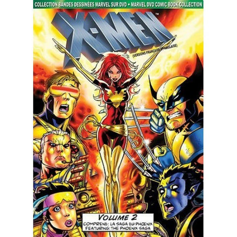 Marvel's X-Men Animated TV Series: Vol 2. - DVD Comic Book Collection [DVD Box Set]