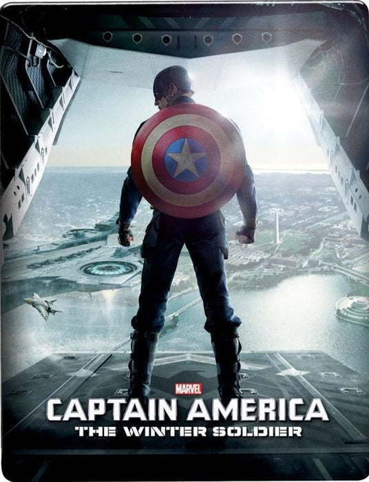 Marvel's Captain America: The Winter Soldier - Limited Edition SteelBook [3D + 2D Blu-ray]