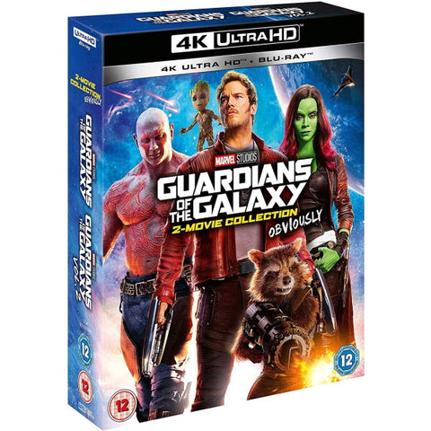 Marvel's Guardians of the Galaxy: 2-Movie Collection 4K [Blu-Ray Box Set + 4K UHD]