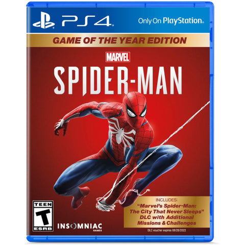 Marvel's Spider-Man: Game of the Year Edition [PlayStation 4]