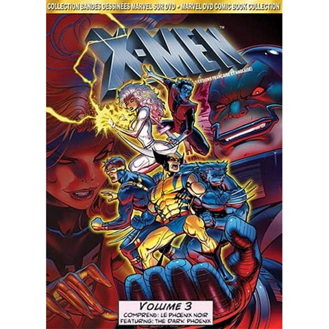 Marvel's X-Men Animated TV Series: Vol 3. - DVD Comic Book Collection [DVD Box Set]