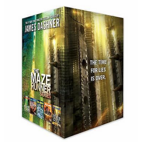 The Maze Runner Series: Hardcover Complete Collection [5 Hardcover Book Set]