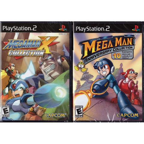 Mega Man Anniversary Collection + Mega Man X Collection [PlayStation 2]