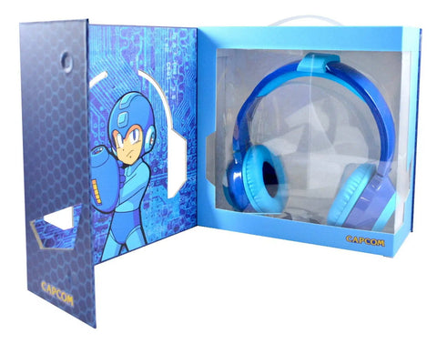 Mega Man Limited Edition Headphones - Blue [Cross-Platform Accessory]