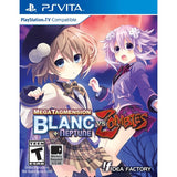 MegaTagmension Blanc + Neptune VS Zombies [Sony PS Vita]