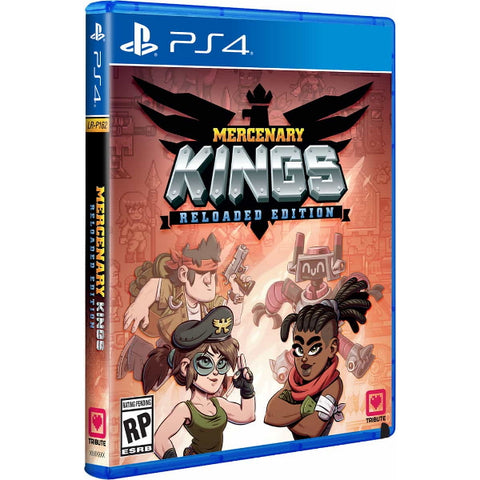 Mercenary Kings: Reloaded Edition [PlayStation 4]