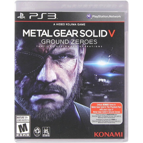 Metal Gear Solid V: Ground Zeroes [PlayStation 3]