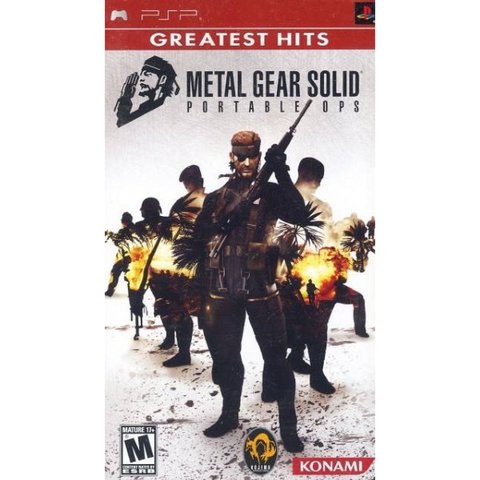 Metal Gear Solid: Portable Ops [Sony PSP]