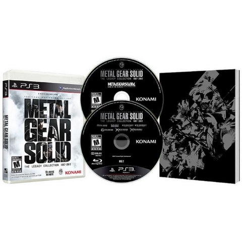 Metal Gear Solid: The Legacy Collection w/ Exclusive Artbook [PlayStation 3]
