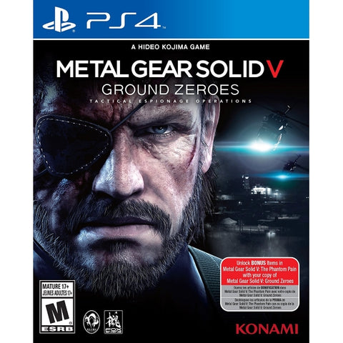 Metal Gear Solid V: Ground Zeroes [PlayStation 4]