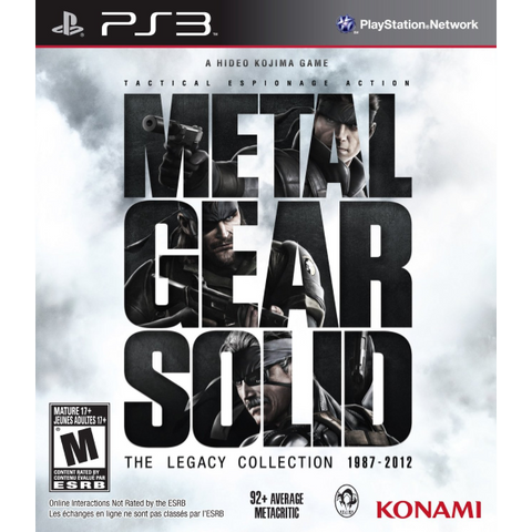 Metal Gear Solid: The Legacy Collection [PlayStation 3]