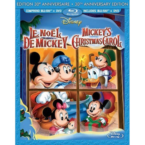 Disney's Mickey's Christmas Carol - 30th Anniversary Edition [Blu-Ray]