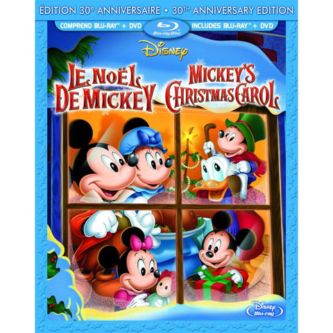 Mickey's Christmas Carol: 30th Anniversary Edition [Blu-ray + DVD]