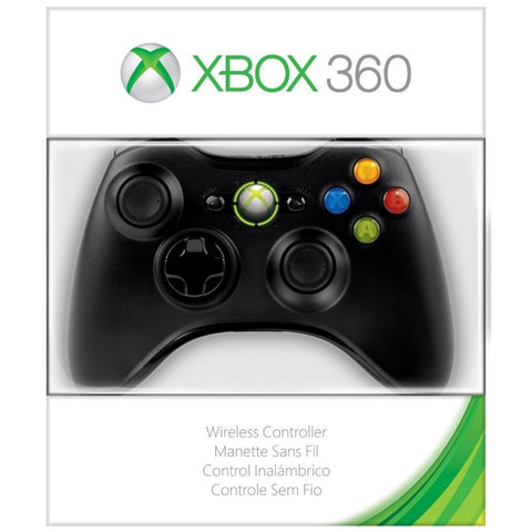 Microsoft Xbox 360 Wireless Controller - Black [Xbox 360 Accessory]