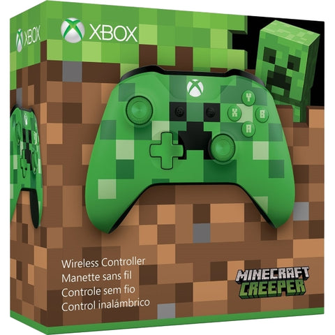 Xbox One Wireless Controller - Minecraft Creeper [Xbox One Accessory]