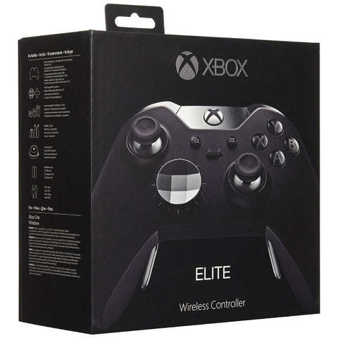 Xbox One Wireless Elite Controller - Black [Xbox One Accessory]