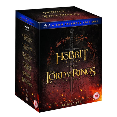 Middle Earth 6-Film Collection - Extended Edition [Blu-Ray Box Set]