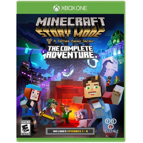 Minecraft: Story Mode - A Telltale Games Series - The Complete Adventure [Xbox One]