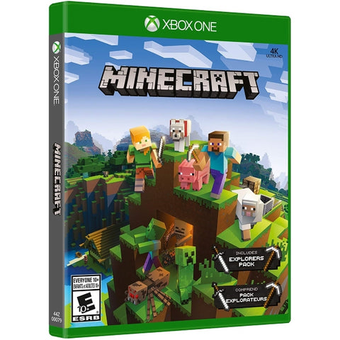 Minecraft - Explorers Pack Included [Xbox One]