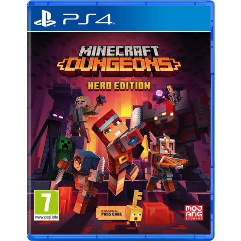 Minecraft Dungeons: Hero Edition [PlayStation 4]