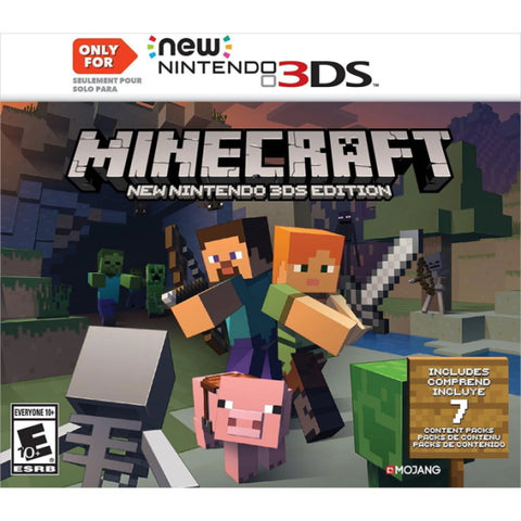 Minecraft: NEW Nintendo 3DS Edition [NEW Nintendo 3DS]