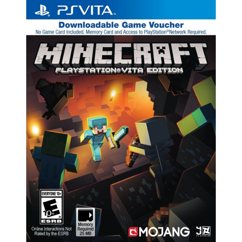 Minecraft: Playstation Vita Edition [Sony PS Vita]