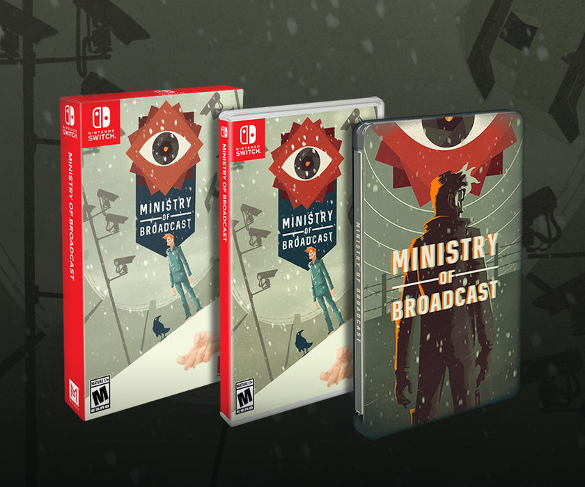 Ministry of Broadcast: SteelBook Edition [Nintendo Switch]