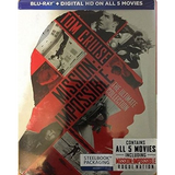 Mission: Impossible - The Ultimate Collection 5-Pack [Blu-Ray Steelbook Box Set]