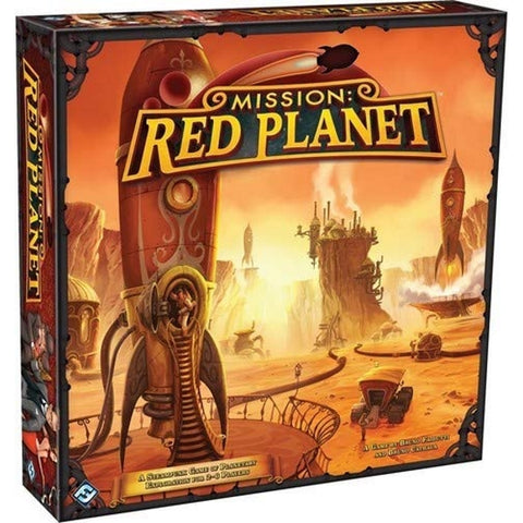 Mission: Red Planet - 2nd Edition [Board Game, 2-6 Players]