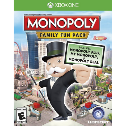 Monopoly: Family Fun Pack [Xbox One]