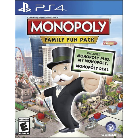 Monopoly: Family Fun Pack [PlayStation 4]