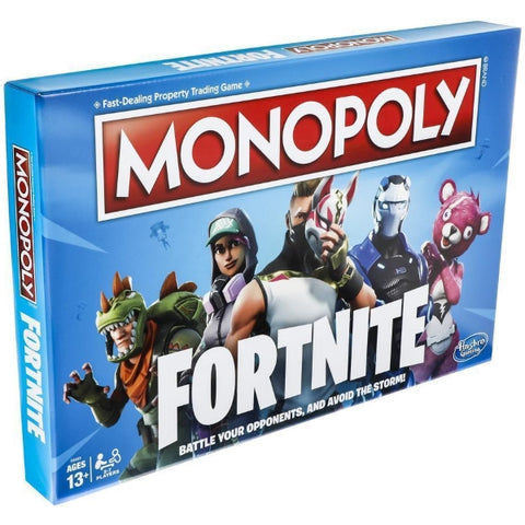 Monopoly: Fortnite Edition [Board Game, 2-7 Players]