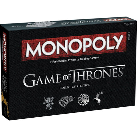Monopoly: Game of Thrones - Collector's Edition [Board Game, 2-6 Players]