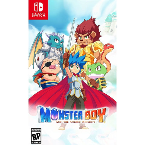 Monster Boy and the Cursed Kingdom [Nintendo Switch]