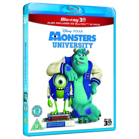 Disney Pixar Monsters University [3D + 2D Blu-Ray]