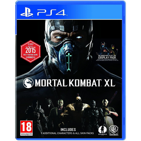 Mortal Kombat XL [PlayStation 4]