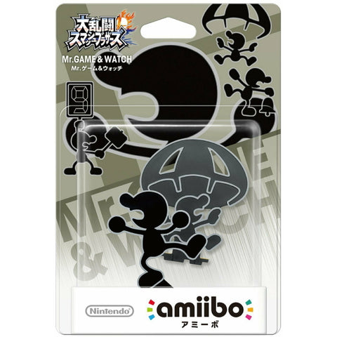 Mr. Game & Watch Amiibo - Super Smash Bros. Series [Nintendo Accessory]
