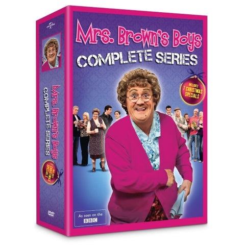 Mrs. Brown's Boys - Complete Series [DVD Box Set]
