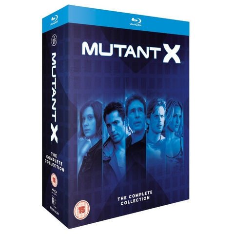 Mutant X - The Complete Collection [Blu-Ray Box Set]