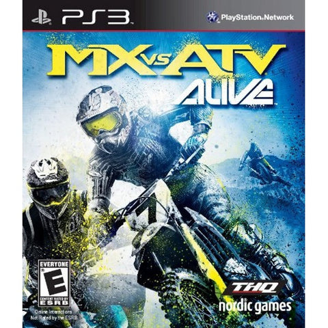 MX vs. ATV Alive [PlayStation 3]