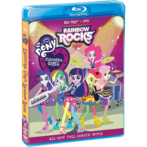 My Little Pony: Equestria Girls - Rainbow Rocks [Blu-Ray + DVD]