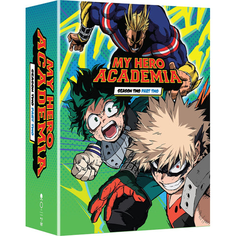 My Hero Academia: Season Two Part Two - Limited Edition [Blu-Ray Box Set + DVD + Digital]