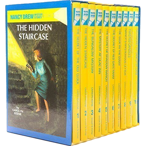 The Nancy Drew Mystery Collection Volume 1-10 [10 Hardcover Book Set]