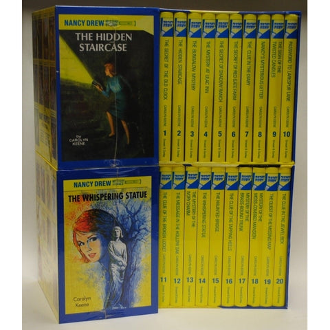 The Nancy Drew Mystery Collection - Volume 1-20 [20 Hardcover Book Set]