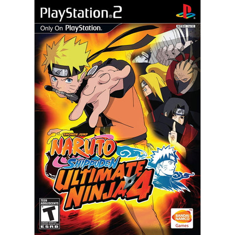 Naruto Shippuden: Ultimate Ninja 4 [PlayStation 2]