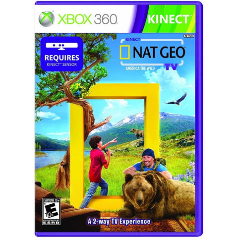 Kinect Nat Geo TV: America The Wild [Xbox 360]